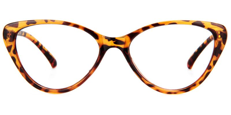7b9c686232 Michaela Cat Eye Tortoise Glasses FT0127-01