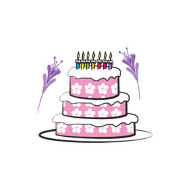 New Ios App Birthday Cake Set Stickers Mojilala Siriustraffic