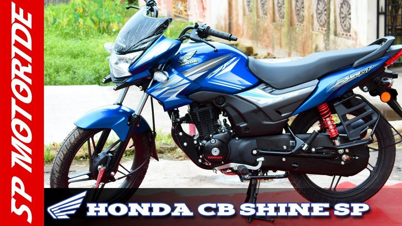 Honda Cb Shine Sp 125 Cc Review 2018 Cb Shine Sp Drum Brake Variant In 2020 Honda Cb Honda New Honda