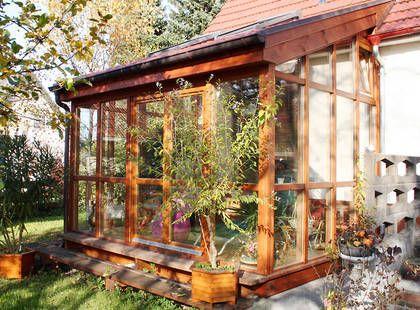 kleiner wintergarten garden inspiration porch decor garten und terrasse pinterest