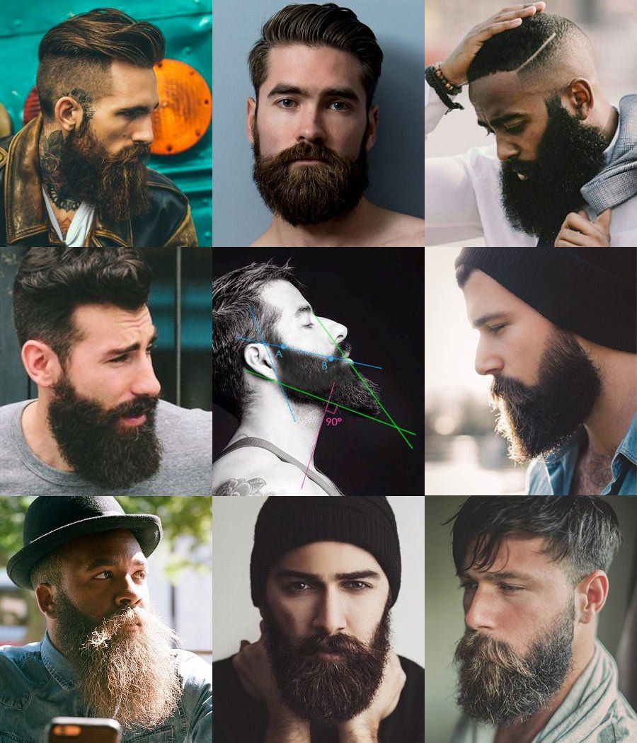 9 Full Beard Styles | Full beard, Beard styles and Facial hair