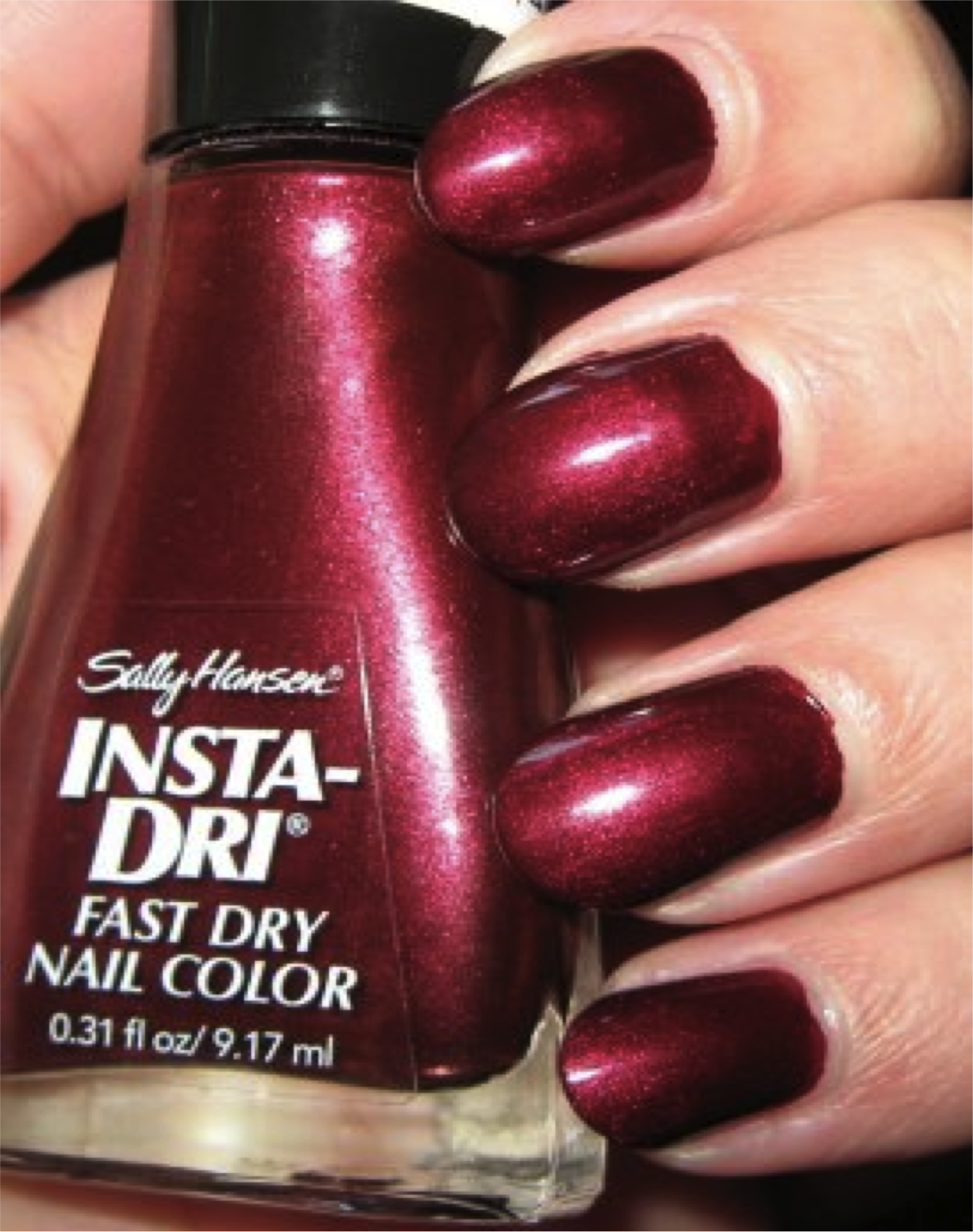 Insta Dri In Wined Up Is The Ideal Color This Season 1 Stroke Coat Min To Dry Your Mani Ur Ready Go