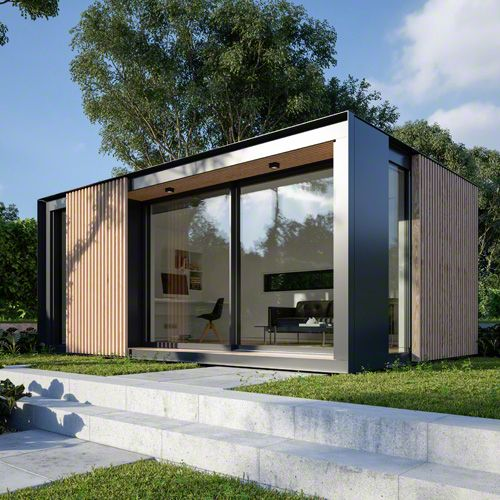 Eco pod an eco friendly outdoor office designed by pod for Eco garden office