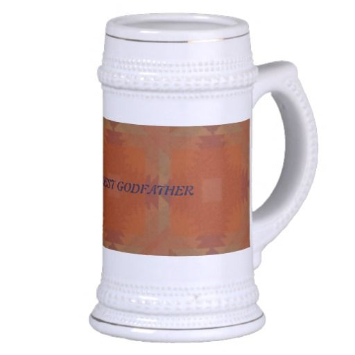 WORLDS BEST GODFATHER COFFEE MUGS
