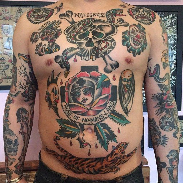 14adaa88c Bert Krak - Smith St. Tattoo Parlour   Sick   Tattoos, Traditional ...
