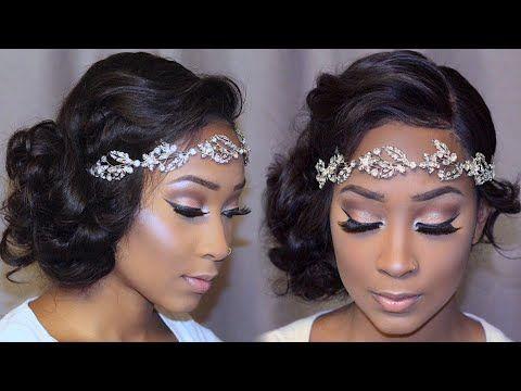 GRWM Bridal Edition Full Makeup & Hair ( Beginner