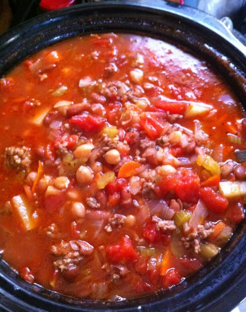 Italian Sausage Vegetable Soup Great Crockpot Slow Cooker