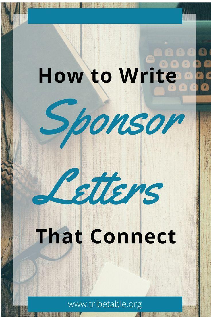 Fundraising Sponsor Letters How To Write Sponsorship Letters