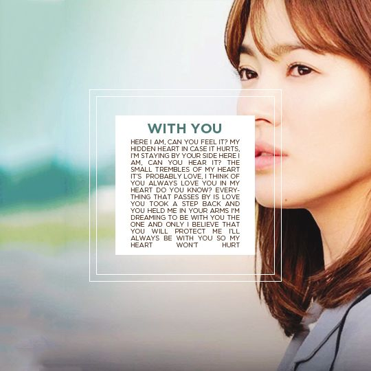 Descendants Of The Sun Song Hye Gyo Ost Lyrics With Images