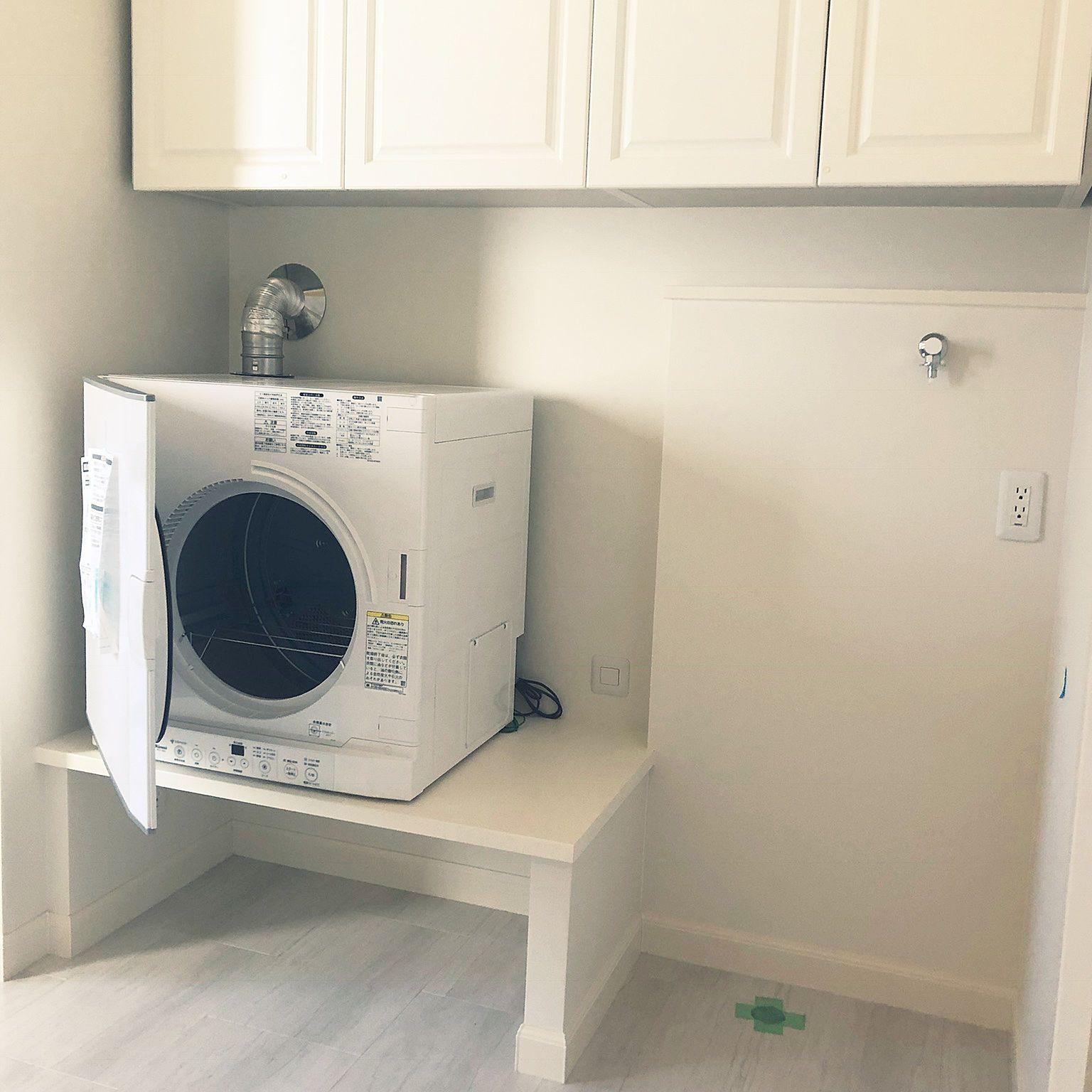 楽したい 2人暮らし 乾燥機 ランドリー収納 ランドリースペース など