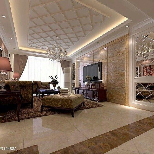 False ceiling bedroom lamps false ceiling diy spaces false - Fall ceiling design for living room ...