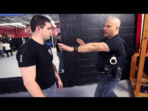 Superb WEAPON RETENTION   Police Wing Chun And How Long Does It Take To Become A Police  Officer?