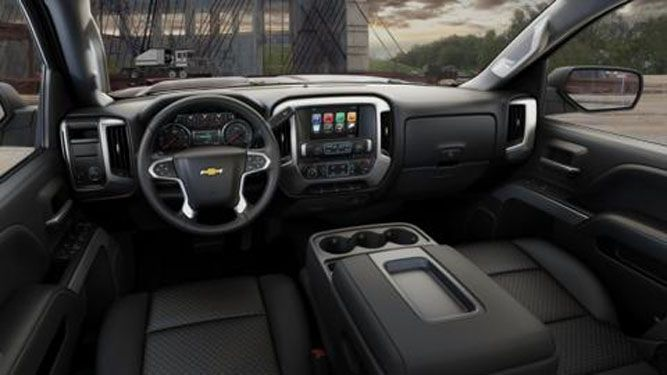 2016 Chevy Silverado Interior  Lifted Chevy  Pinterest  Chevy