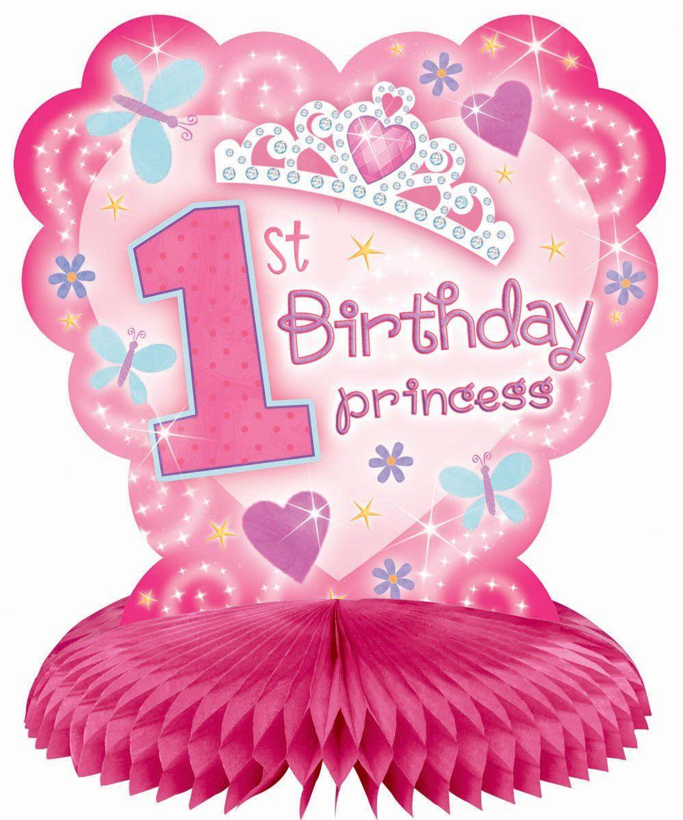 1st Birthday Princess Decorations