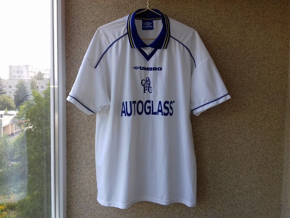 Chelsea Away football shirt 1998 2000 Jersey 2XL Soccer Umbro England  Camiseta (eBay Link 518129120