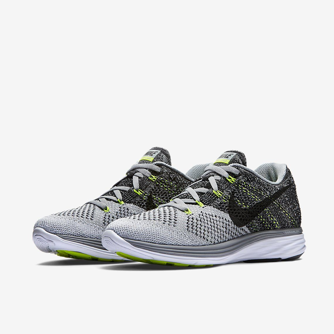 Nike Flyknit Lunar 3 Men's Running Shoe.