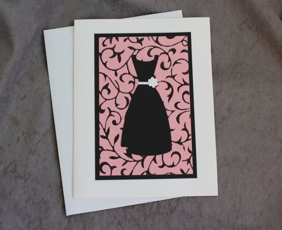 Thanks for Being My Junior Bridesmaid Card by patternedpomegranate, $3.50