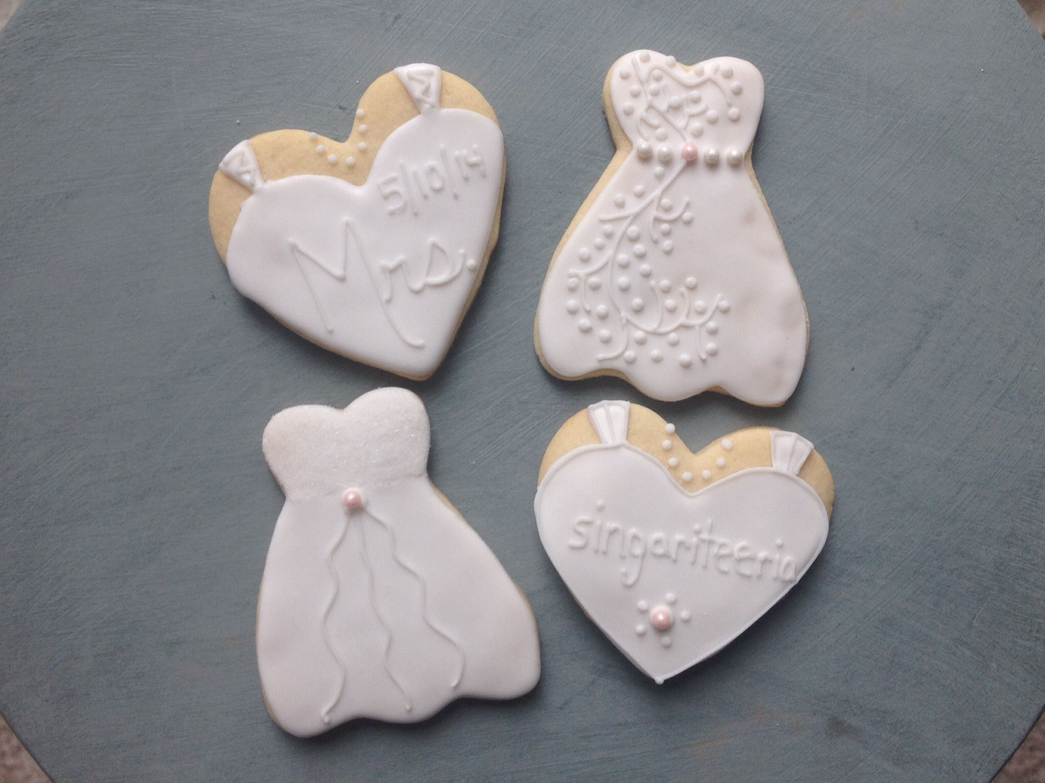Bridal Shower or Wedding Favor Sugar Cookies! Available for purchase ...