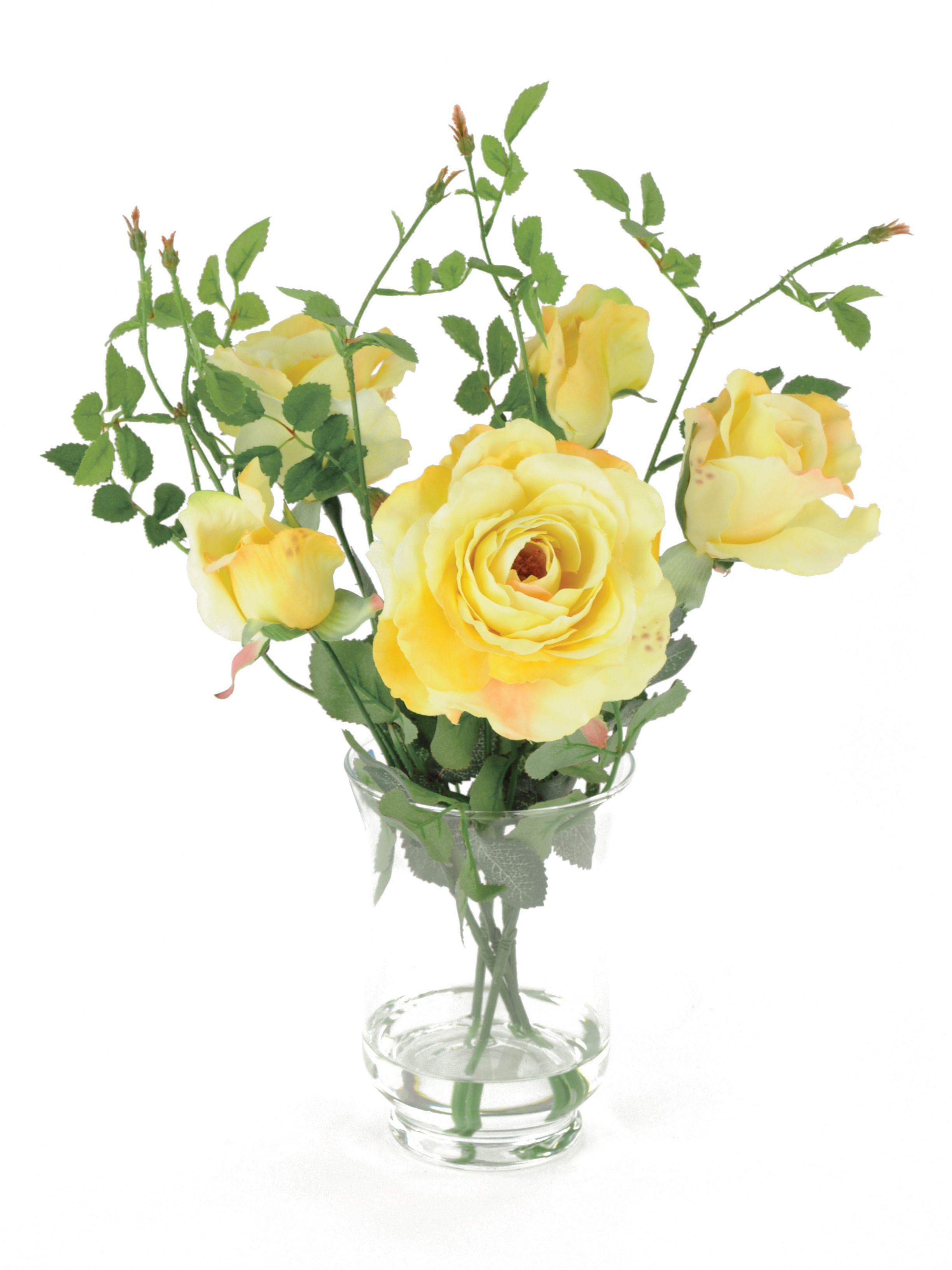 Artificial Flower Bouquet Yellow Flower Garden 21 Tall Etsy Artificial Flower Bouquet Yellow Flower Arrangements Artificial Flowers