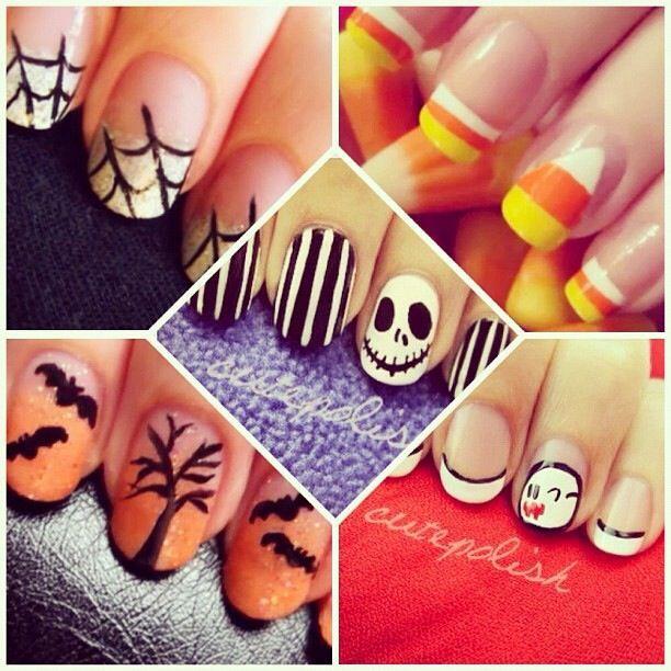 5 Halloween nail designs by cutepolish. | Halloween nails ...