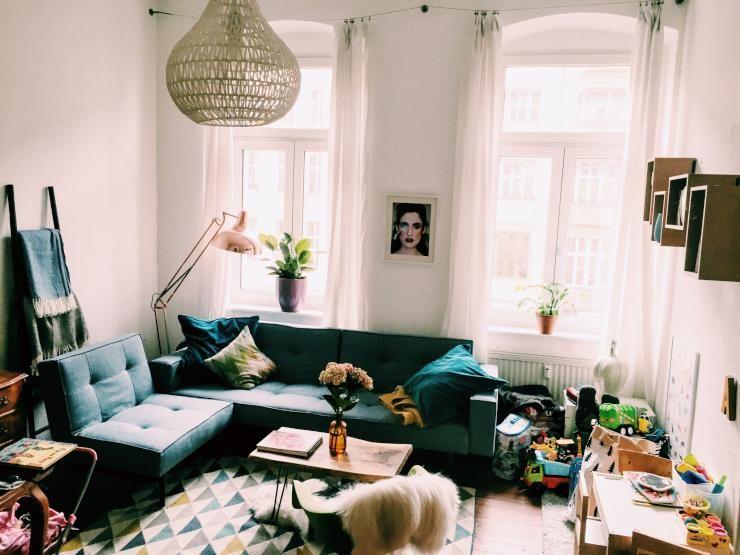 Schönes Berliner Wohnzimmer In Prenzlauer Berg