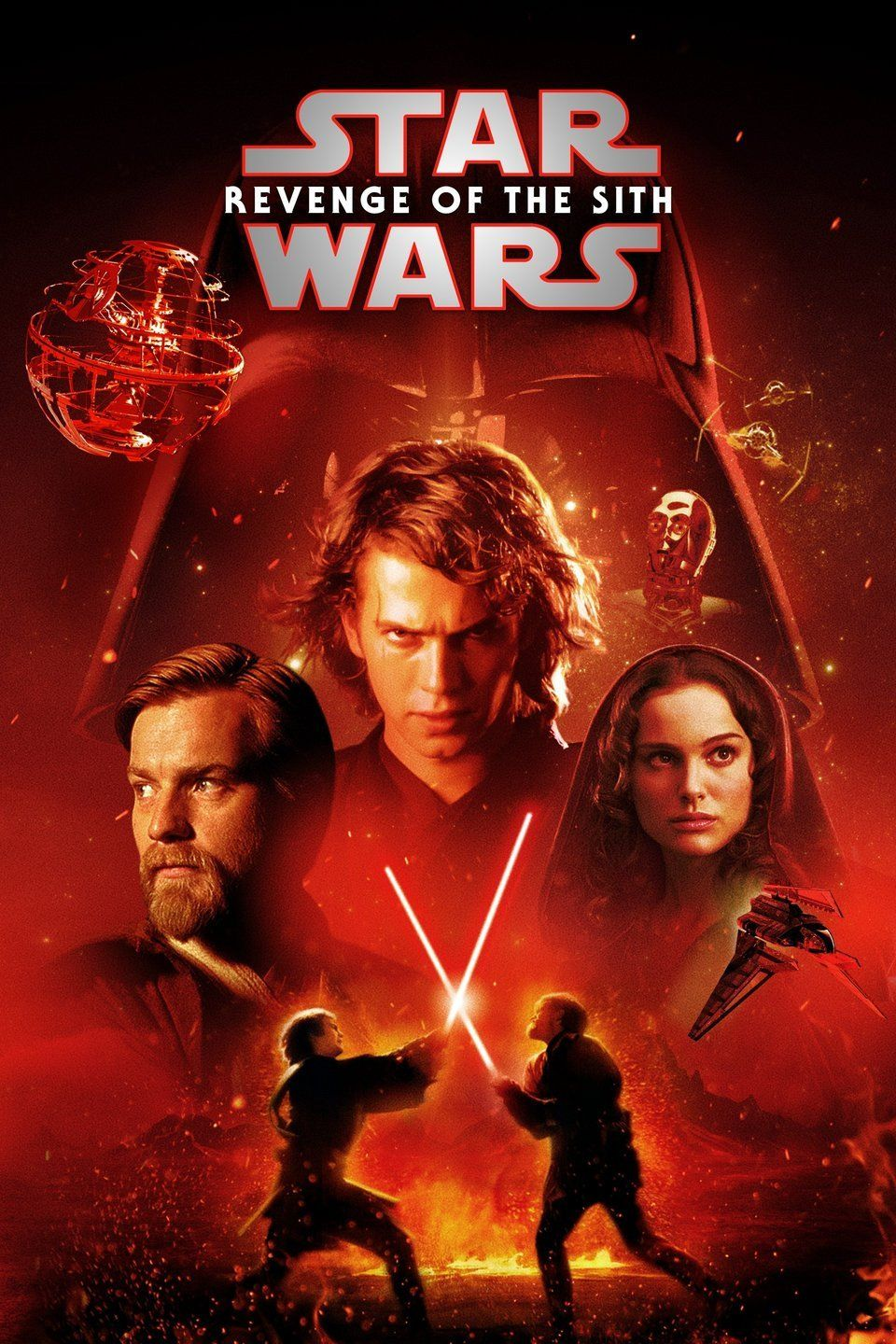 Star Wars Revenge Of The Sith Star Wars Movies Posters Star Wars Movie Star Wars Poster