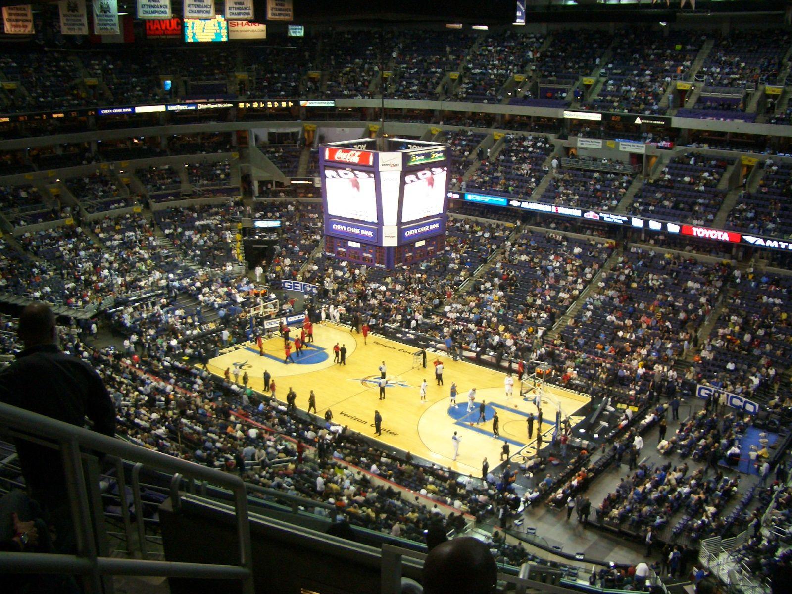 Verizon Center Washington Dc Washington Wizards And