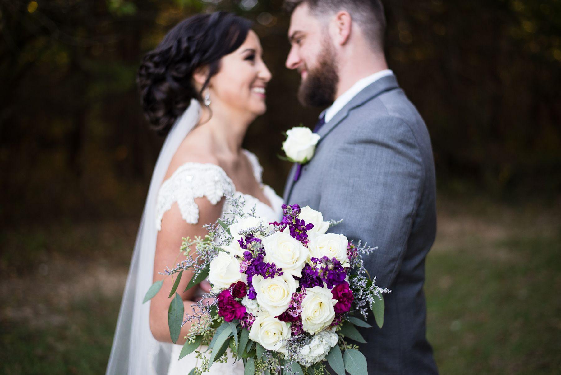 Ashley Elizabeth Photography Rustic Wedding Lace Burlap Decor