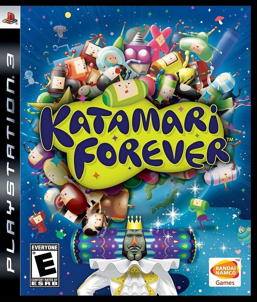 Katamari Forever Playstation 3 ps4 gaming video in