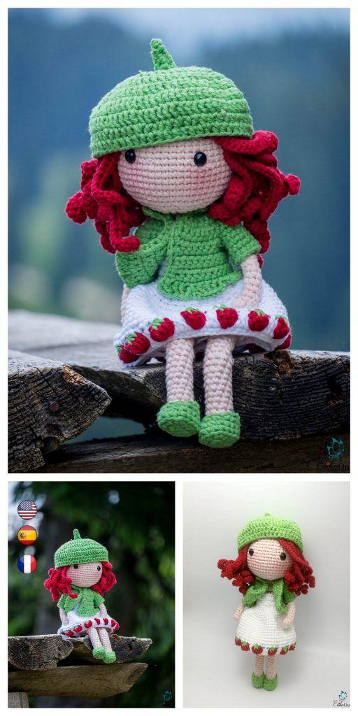 Mori Kei Anime Girl Amigurumi Crochet Doll - Sweet Softies ... | 1024x512
