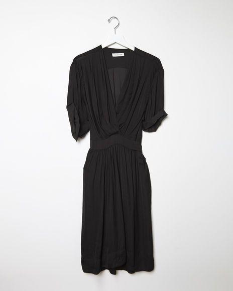Isabel Marant Étoile  | Boyce Wrap Dress | La Garçonne