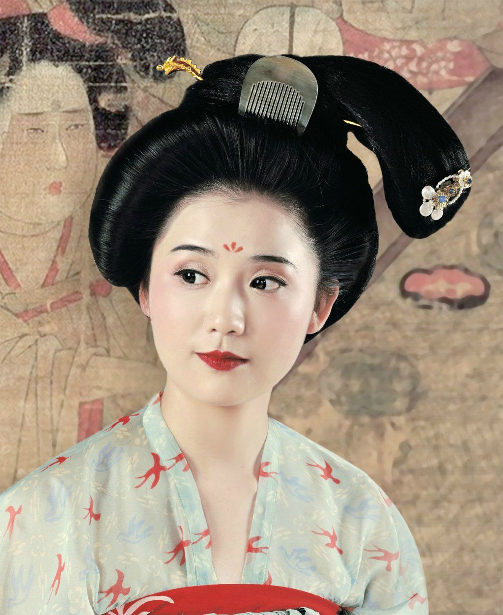 hanfugallery: traditional chinese fashion in tang dynasty style by