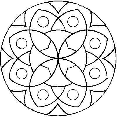 Pin de clauz montenegro en mandalas | Pinterest | Mandalas faciles ...