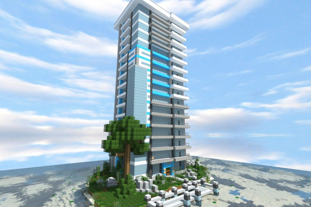 Midnight Springs - Modern Skyscraper Wok Minecraft
