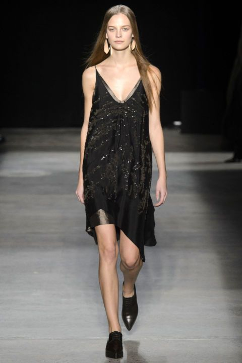 Narciso Rodriguez is the poster child for the unexpected hero of the red carpet. His gowns rarely have flash and dazzle, but they do sizzle with understated sex appeal. Click through to see the best looks of his fall 2016 collection: