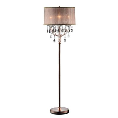 Antique Rosie Crystal Floor Lamp At The Home Depot $190