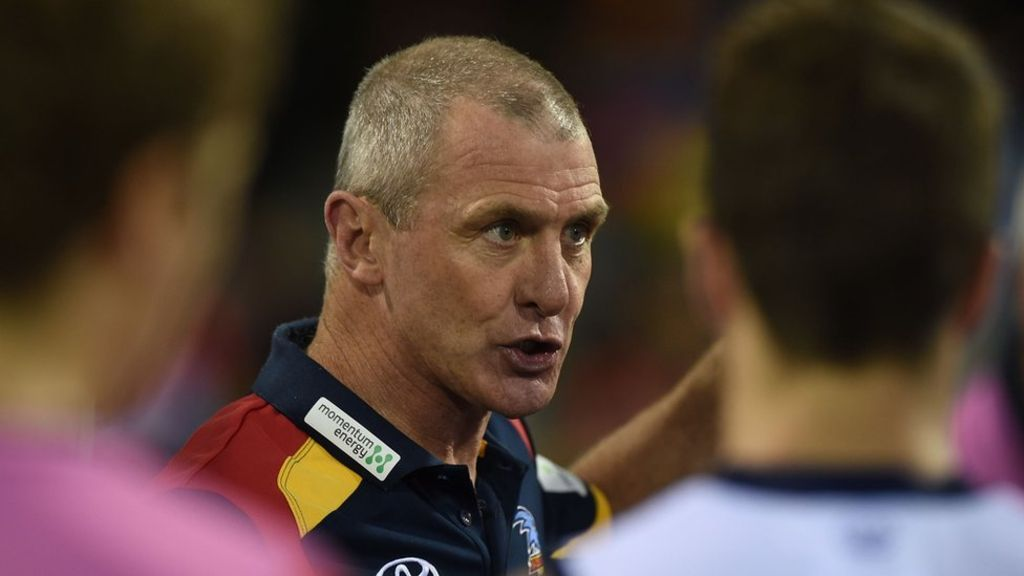 Phil Walsh Adelaide Crows coach killed at home - son arrested  http://www.bbc.com/news/world-australia-33375650