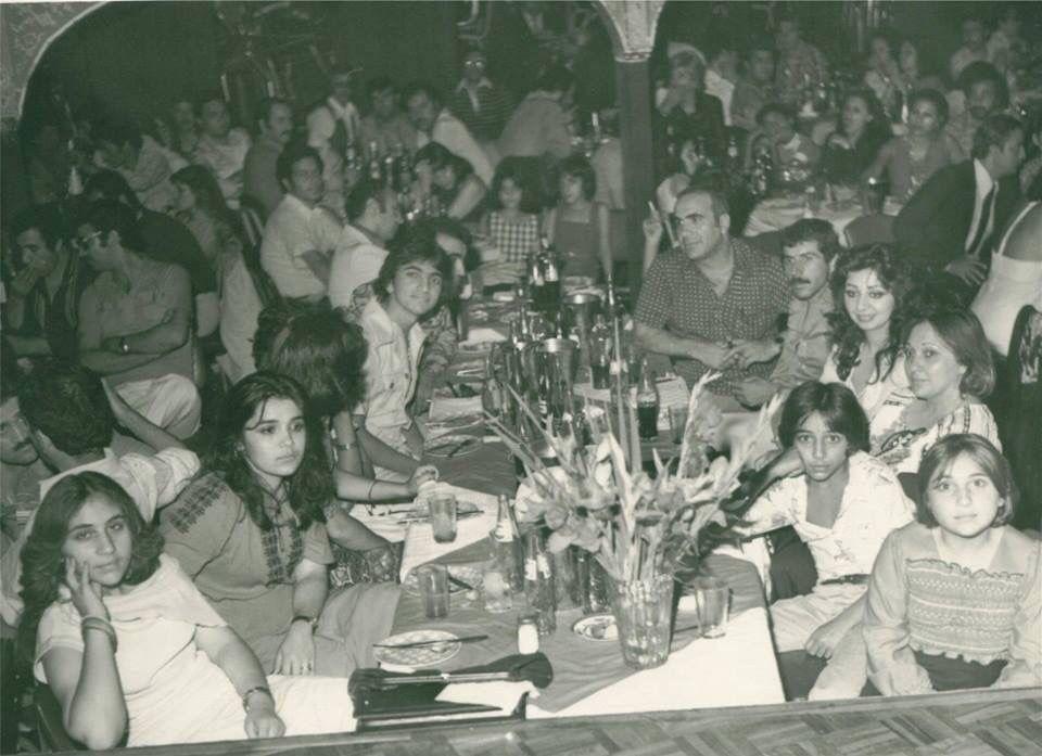 كاباره باكارا ١٣٥٥ Cabaret Ba'Kara, Tehran, Iran 1976