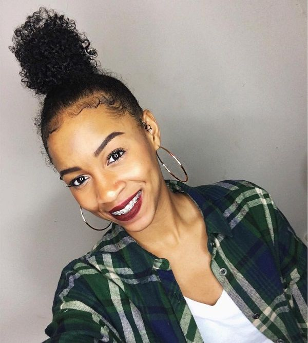 Wordpress Installation Curly Top Knot Curly Hair Styles Naturally Natural Hair Styles