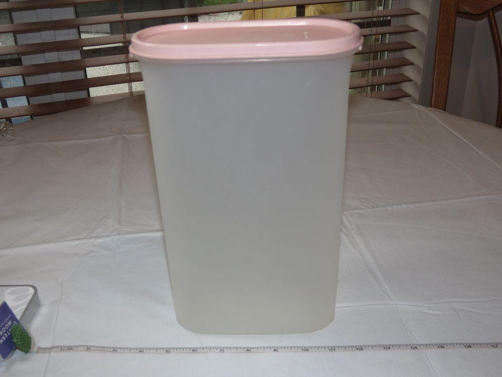 Tupperware Modular Mates Oval 5 Pink Lid 12 1 4 Cups Food Storage Container Food Storage Containers Food Storage Tupperware