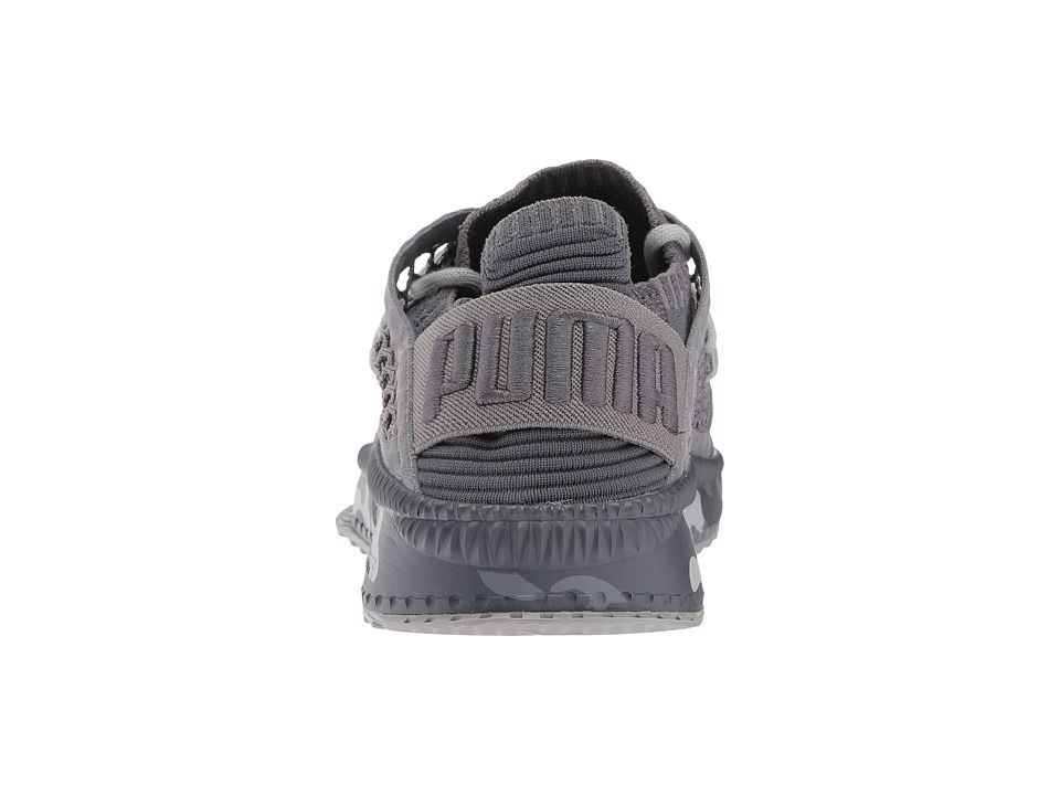 PUMA Tsugi Netfit evoKNIT Camo Men s Shoes Quiet Shade Asphalt ... 6af0ffab0