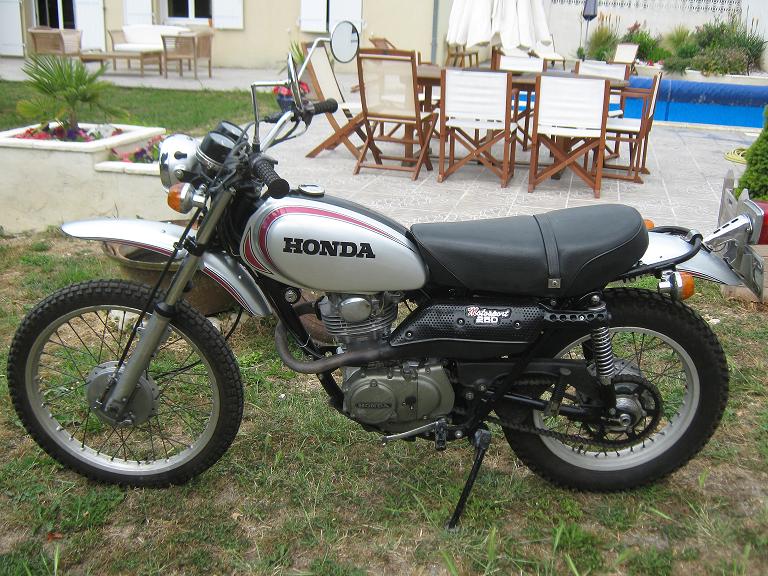 HONDA 250 XL Motosport 1973 Dream motorcycles