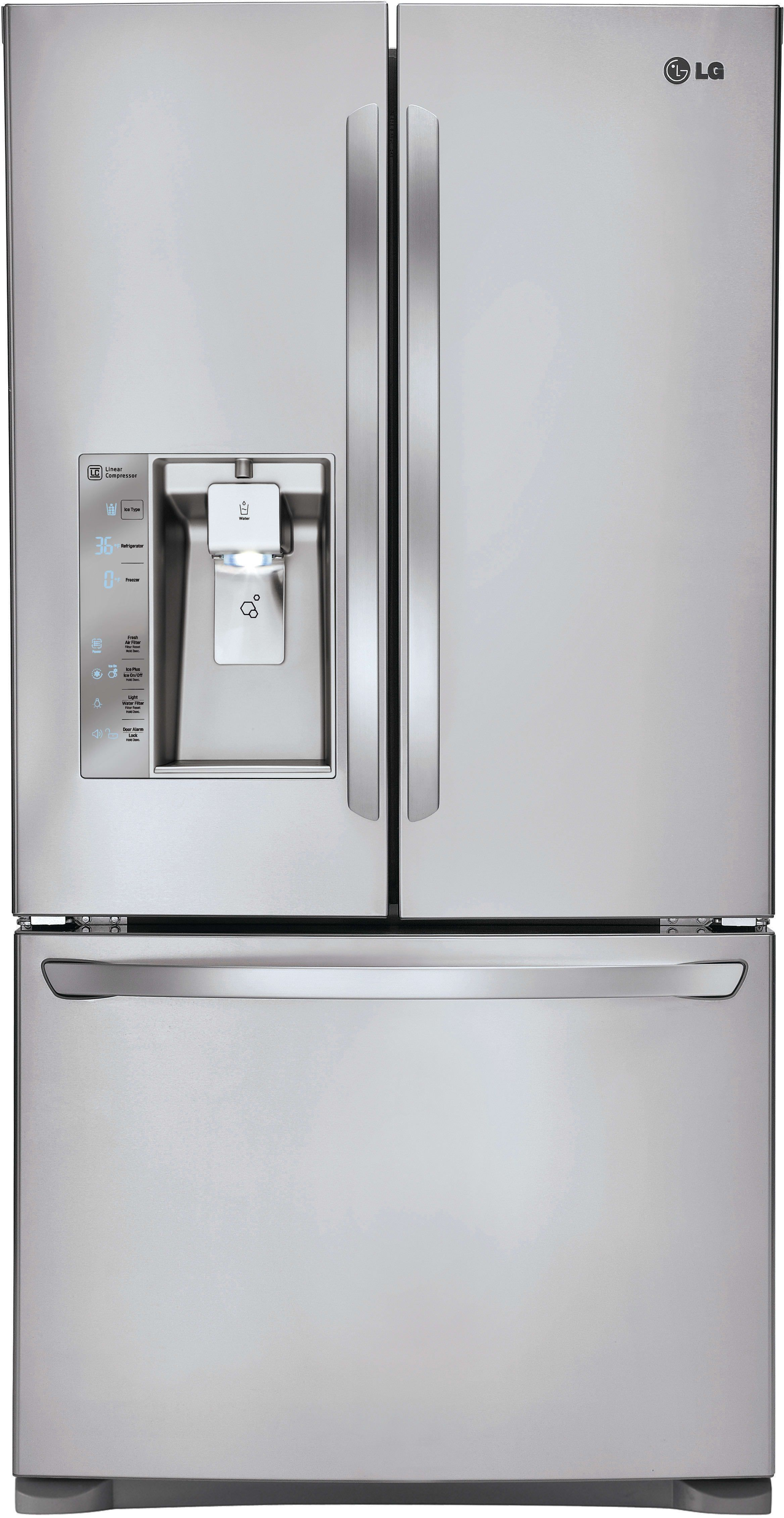 Lg lfxcs inch counter depth french door refrigerator with