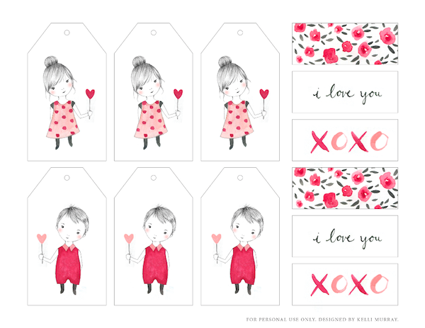 14 Pretty Valentine\'s Day Printables {Free Downloads | Printable ...