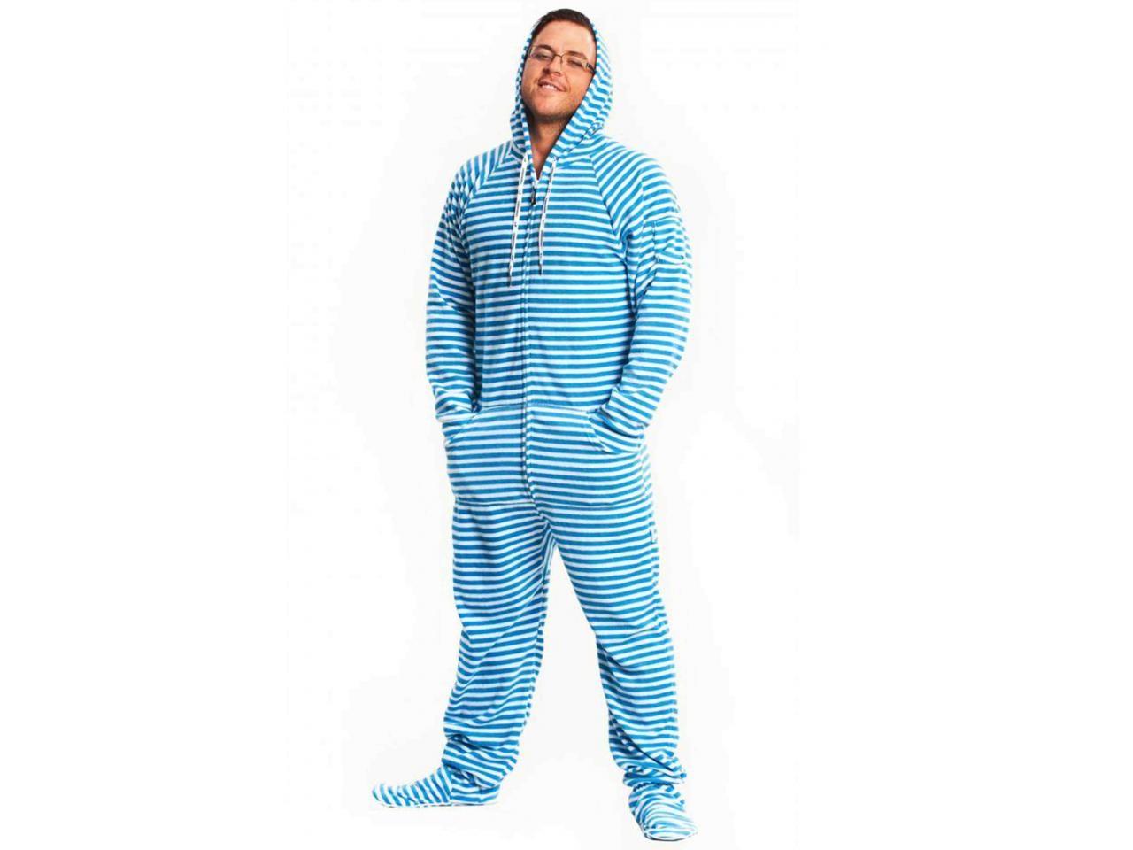 Blue Stripped Adult Pajama onesie | ABDL stuff | Pinterest ...