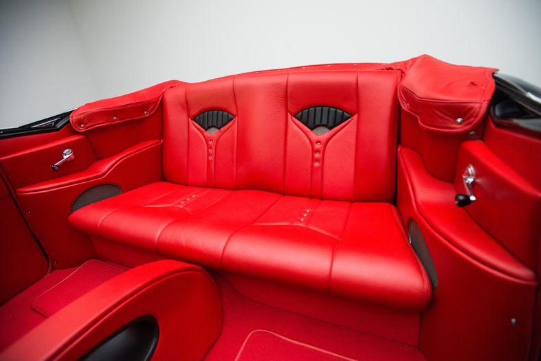 1955 Chevy Custom Interior Rear Custom Car Interior Car Interior Street Rod Interior