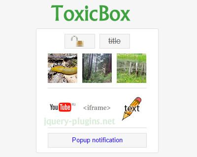 ToxicBox – Free jQuery Lightbox Plugin #gallery #lightbox #photogallery #videobox #jQuery #free