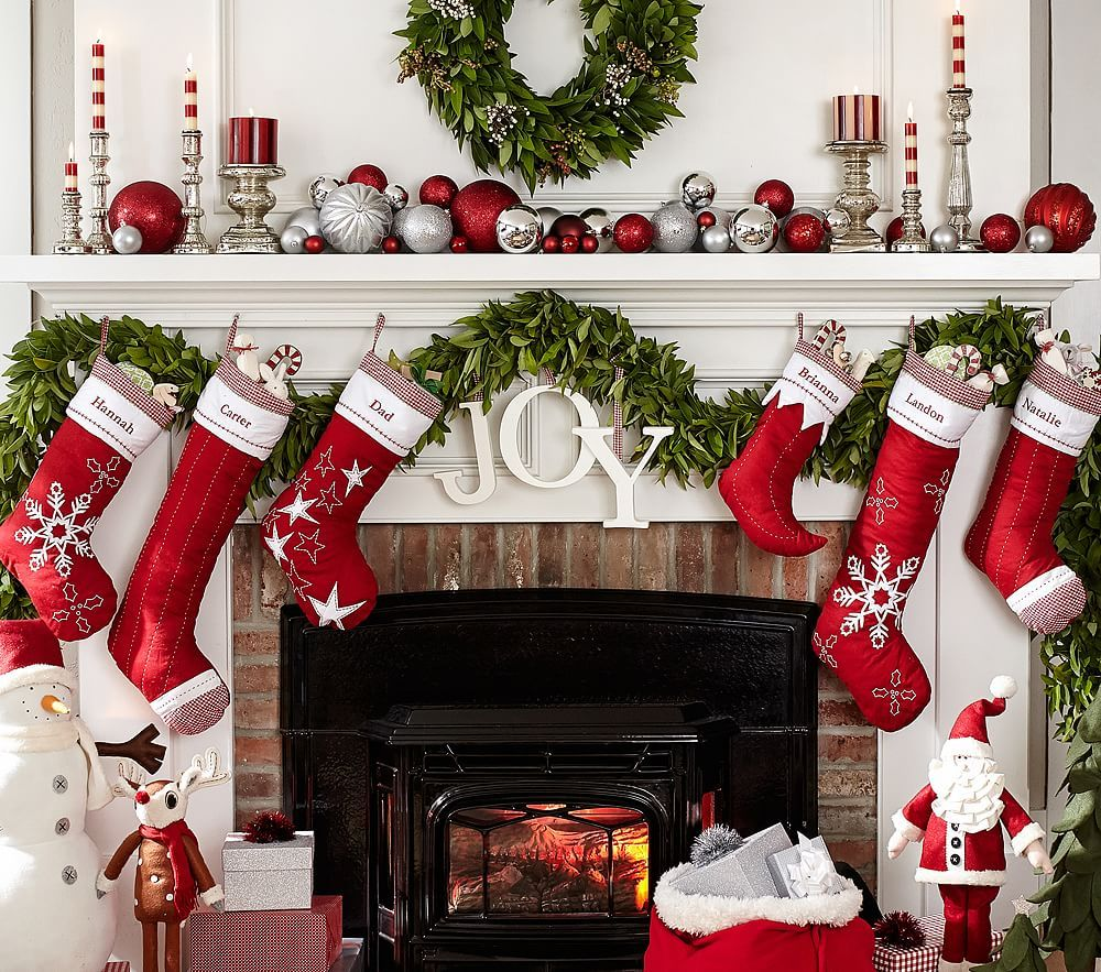 Clic Quilted Stocking Collection Christmas