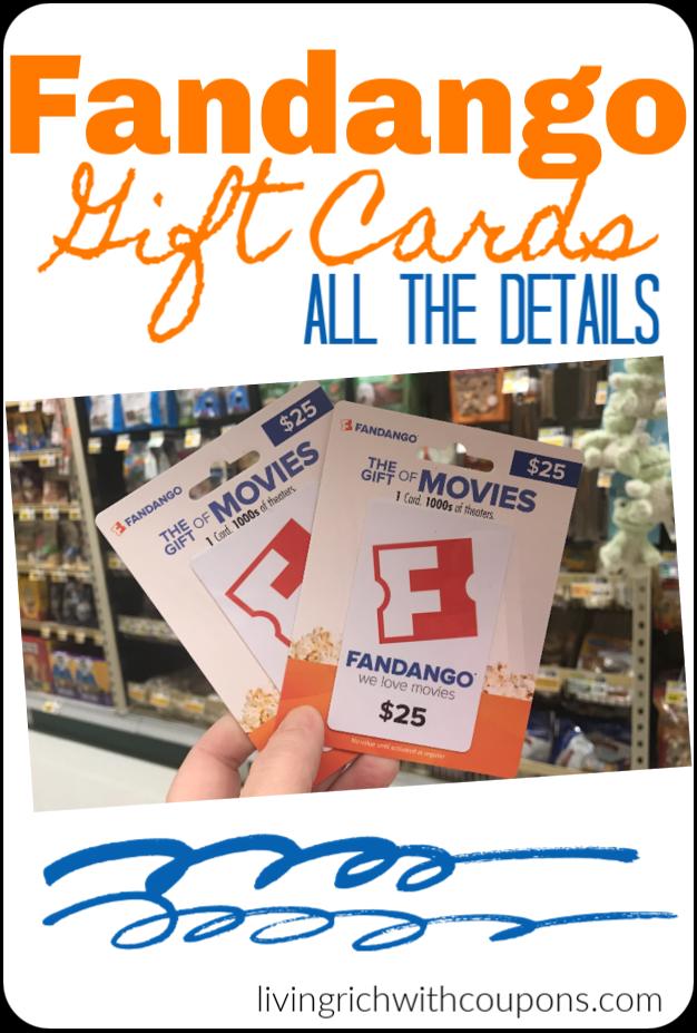 Fandango Gift Card How To Get Them Deals More Best Money