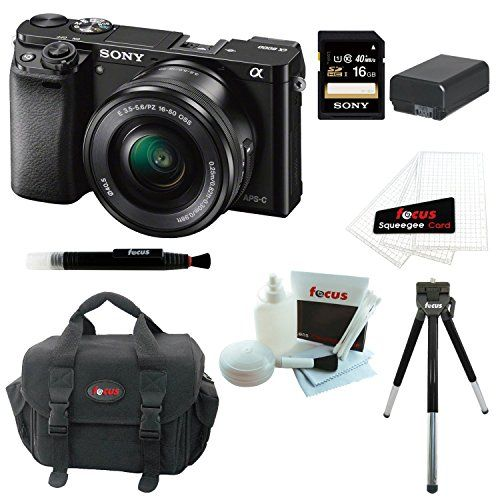 Sony Alpha A6000 Ilce 6000l B Ilce600 Point Shoot Digital Camera Bundles Camera Slr Camera Zoom Lens